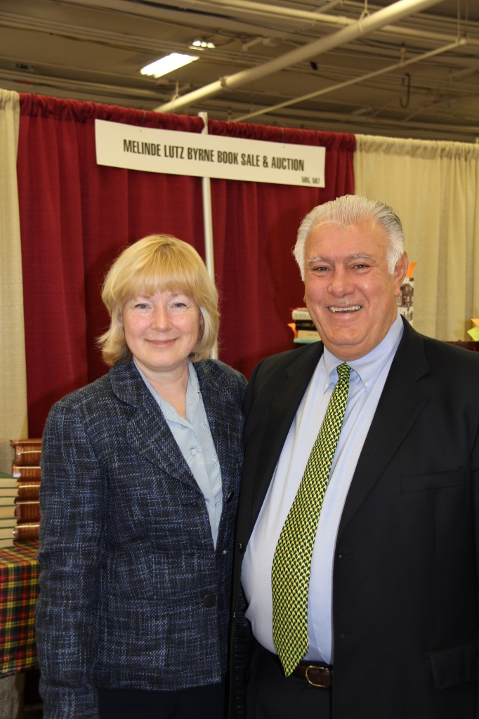 Melinde Lutz Byrne thanks Mayor Ted Gatsas for visiting NERGC