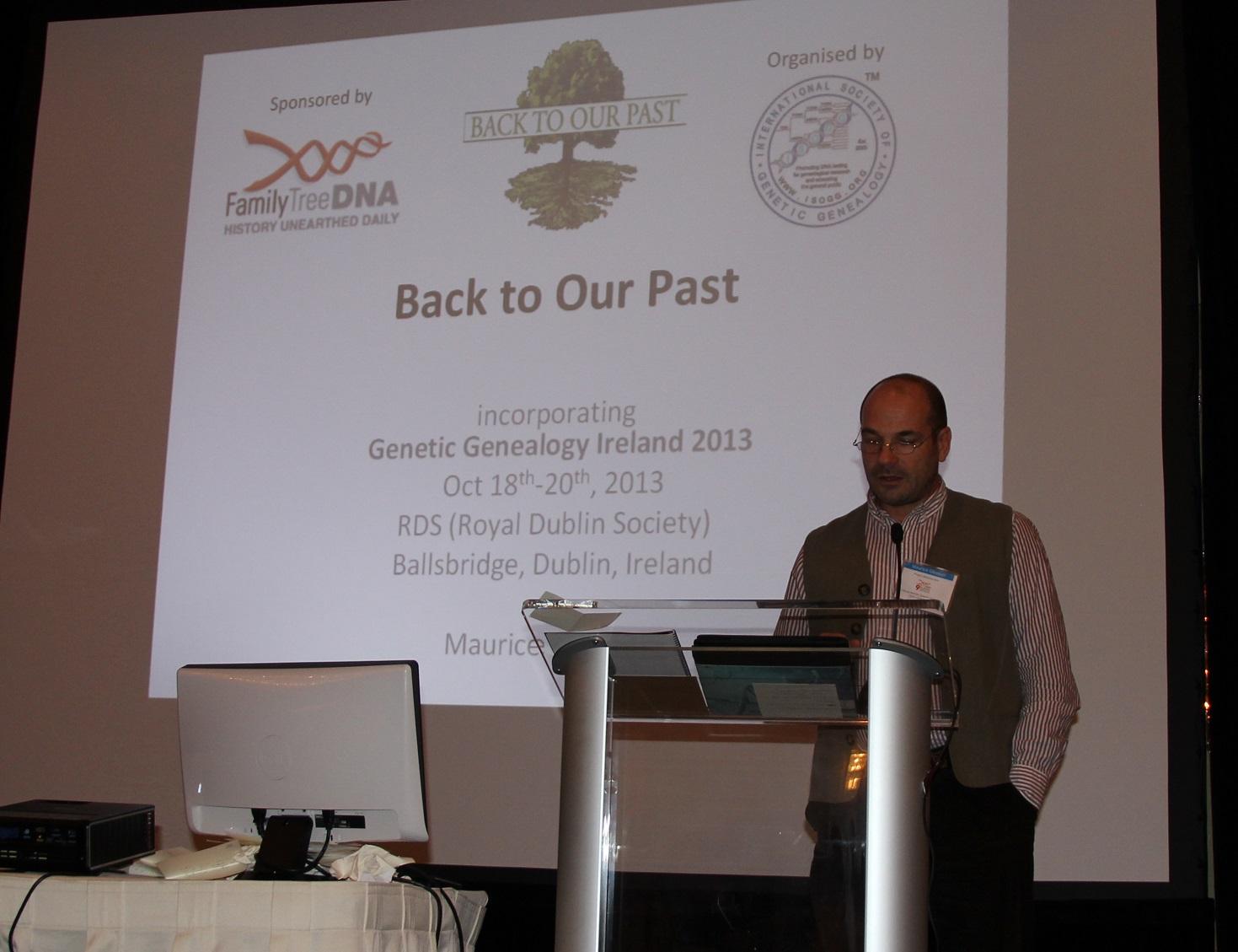9th Annual International Conference on Genetic Genealogy – Day 2