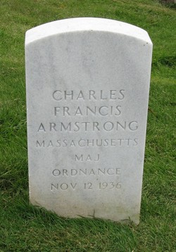 Armstrong, Charles Francis - Headstone photo by Carol Farrant w permission to use freely